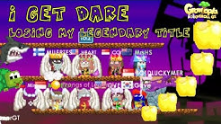 Growtopia | I Get Dare Losing My Legendary Title