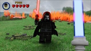LEGO Star Wars The Force Awakens - First Person Jedi(Which game in real life do you want to see next ? Tell me in the comments section! :) FREE 3D Model of Lego Kylo Ren ..., 2015-10-09T00:59:50.000Z)