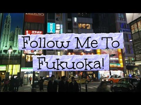 Vlog: Follow Me To Fukuoka!!
