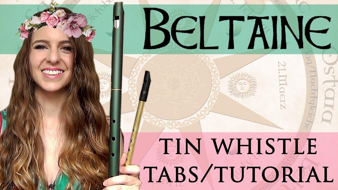 BELTAINE - Tin Whistle Tabs Tutorial | LOW WHISTLE PENNYWHISTLE