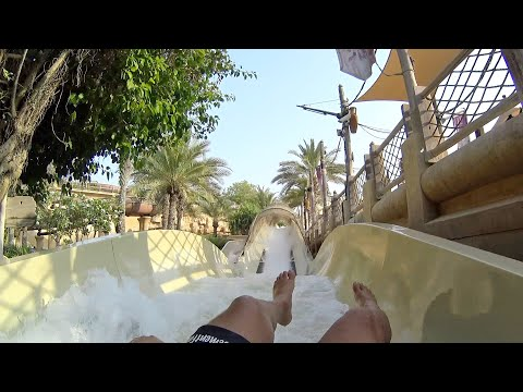 White Water Wadi Slide at Wild Wadi Waterpark