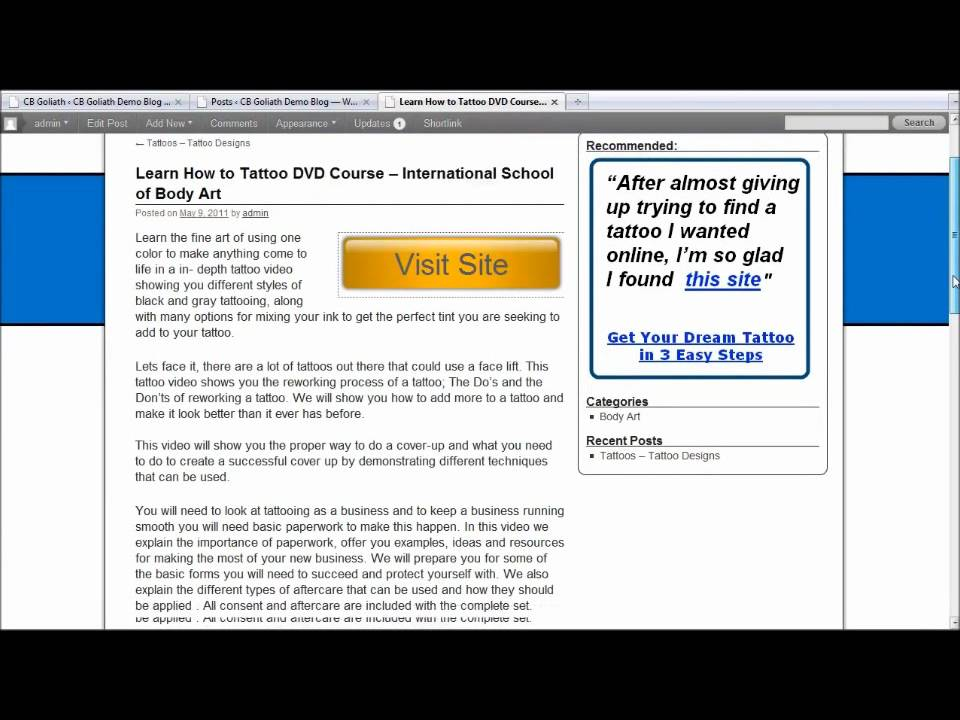 Clickbank dating affiliate