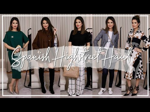 HIGH STREET & DESIGNER TRY-ON HAUL & STYLING IDEAS | Spanish Spring Edit | JASMINA BHARWANI