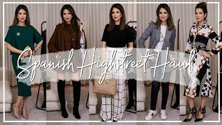 HIGH STREET & DESIGNER TRY-ON HAUL & STYLING IDEAS | Spanish Spring Edit | JASMINA PURI