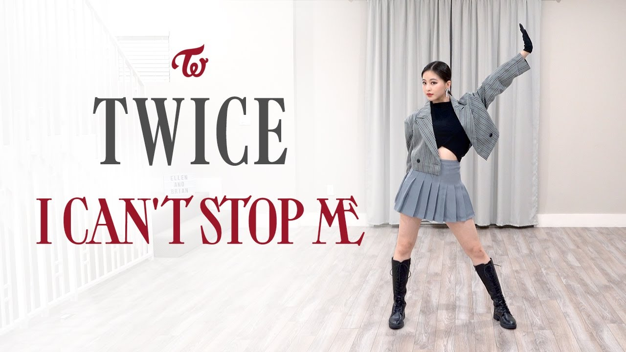 """TWICE - """"I CAN'T STOP ME"""" Dance Cover   Ellen and Brian"""