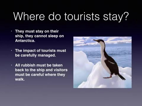 Paper 2 Tourism - Antarctica (Extreme tourism)