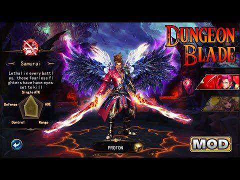Dungeon Blade Apk Mod 2.0.0 MODO DEUS & DANO AUMENTADO [No Root]