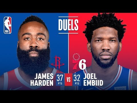 James Harden & Joel Embiid Duel in Philadelphia | January 21, 2019 thumbnail
