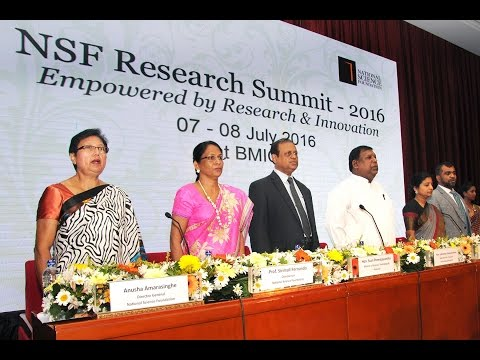 NSF Research Summit -  2016  Ministry of Science , Technology & Research