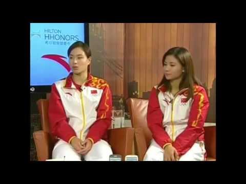 2012伦敦奥运冠军面对面 - 吴敏霞 Wu Minxia 何姿
