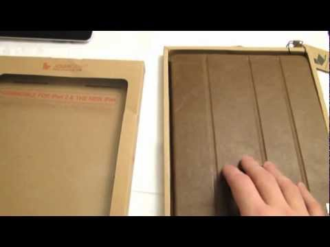 Vintage Real Leather Smart Cover For IPad 4/3/2