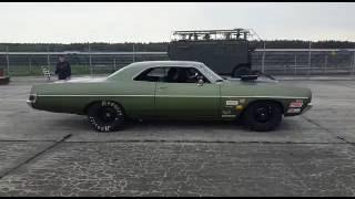 Dodge Polara 572 Hemi vs. Dodge Charger Hell Cat