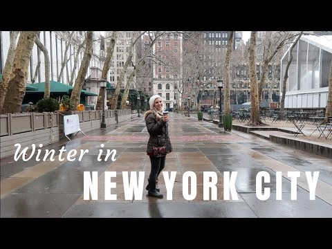 Winter In New York City | Broadway | Financial District | Tribeca | Travel Vlog