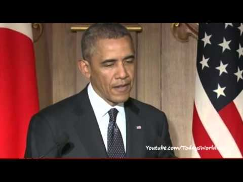 Obama restates support for Japan in island dispute
