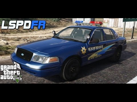 GTA 5: LSPDFR #9 Alameda County Sheriff (2003 CVPI MX7000, Non ELS)