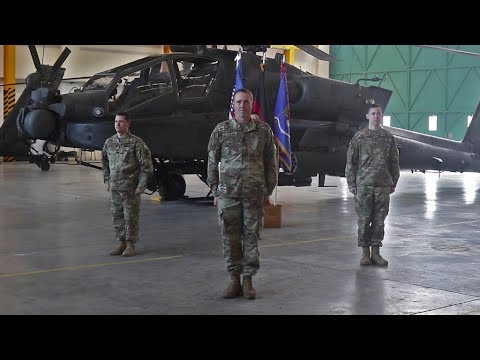 1-3rd ARB Conducts Modified Change Of Command Ceremony