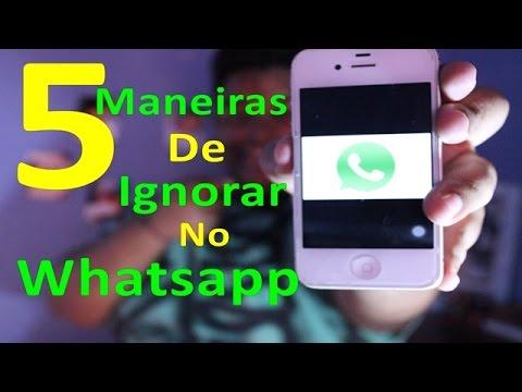 #DeuNaTelha - 5 Maneiras de Ignorar no Whatsapp