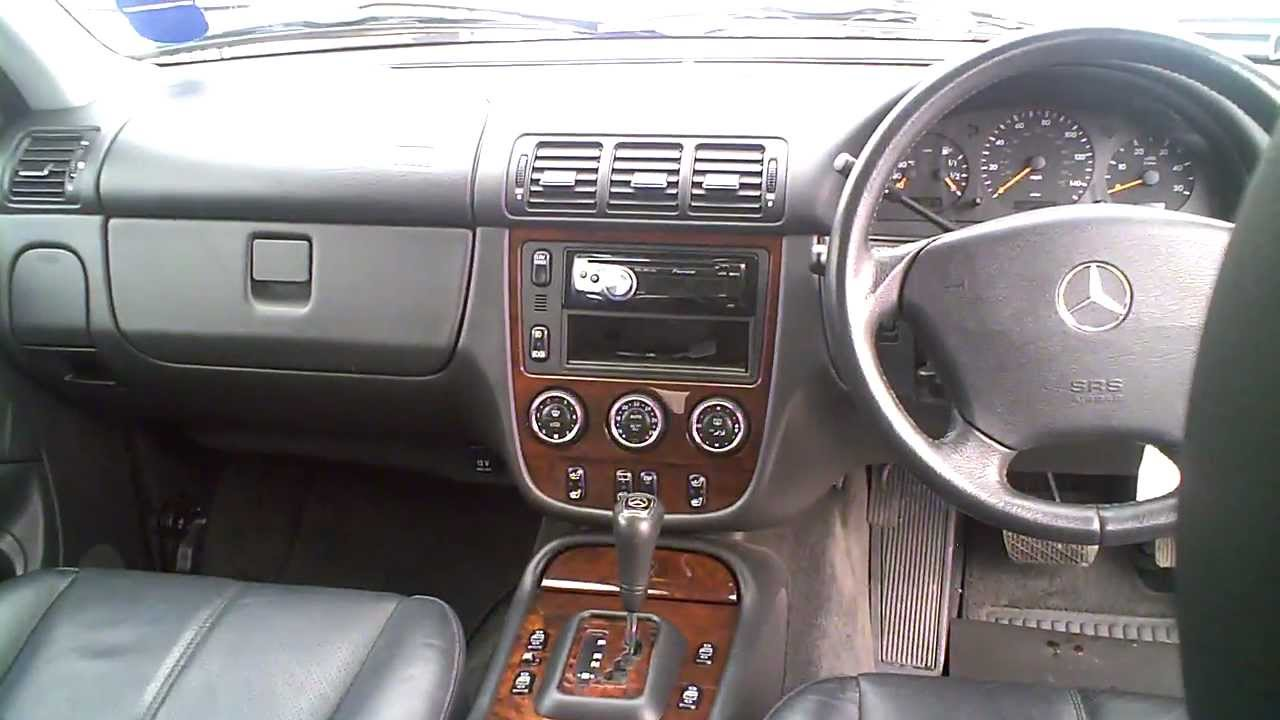 2004 mercedes ml270 cdi automatic 2 7 diesel silver 4x4. Black Bedroom Furniture Sets. Home Design Ideas