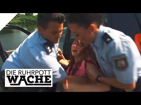 Beziehungsdrama: Schwangere Frau benötigt dringend Hilfe   Die Ruhrpottwache   SAT.1 TV