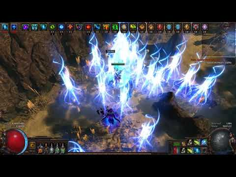3.0 Vaal Power Siphon / Kinetic Blast Wanderfinder w/ Headhunter Gameplay - Path of Exile -