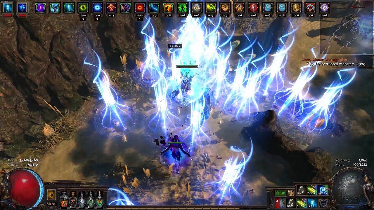 path of exile maps 3.0 guide