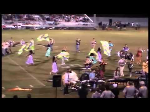 2015 Ashford High School Marching Band 8-21