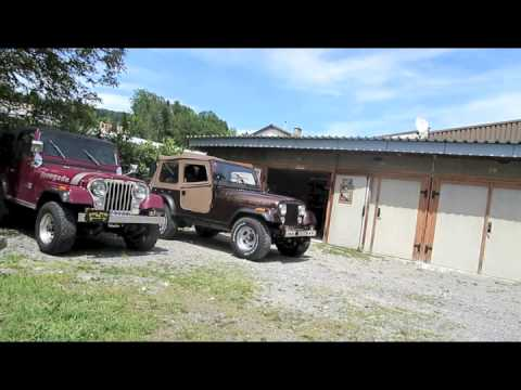 ROLL - OUT 1978 JEEP CJ7 GOLDEN EAGLE