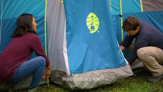 How to: Set Up Your Tenaya Lake™ Fast Pitch™ 8-Person Cabin with Closet