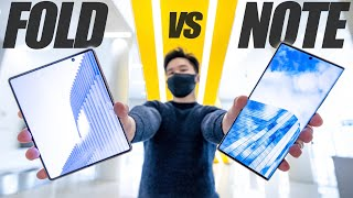 Z Fold 2 vs Note 20 Ultra