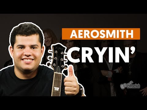 Cryin' - Aerosmith (aula de guitarra)