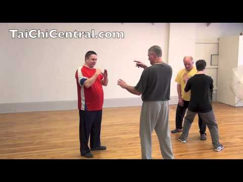 "Advanced tai chi class - January 18 2014 Part 1 of 2 (The Magical Power of ""Cai"")"