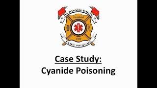 Cyanide Poisoning Training