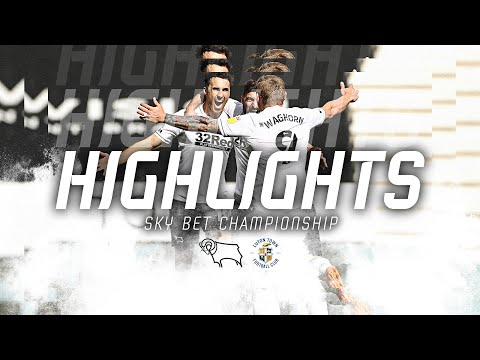 Derby Luton Goals And Highlights