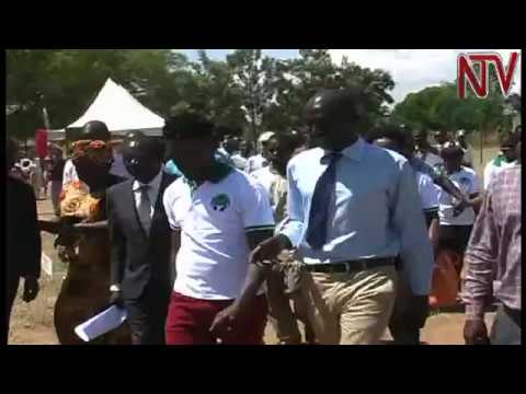 Bobi Wine contributes to construction of girls' washrooms for two Soroti schools