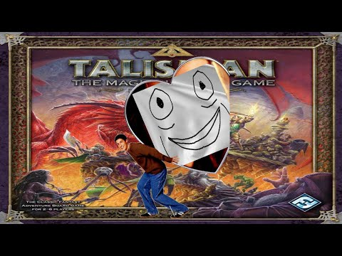 We lost our minds playing Talisman |