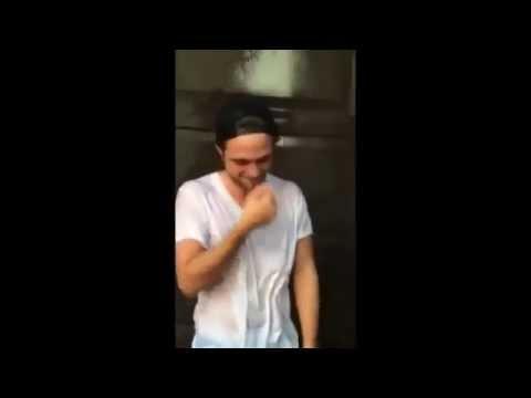 Rob Pattinson ALS Ice Bucket Challenge  Zac Efron  #icebucket Challenge Videos