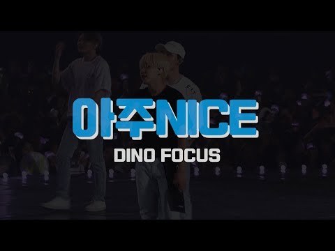 190830 ODE TO YOU in Seoul SEVENTEEN - 아주Nice for  DINO