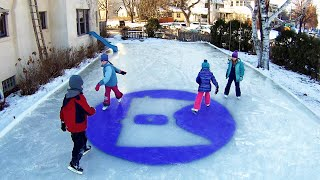 How to Build an Ice Rink - Minnesota Cold (Part 22)