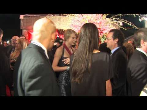 Taylor Swift on the Red Carpet at the 2010 BMI Country Awards