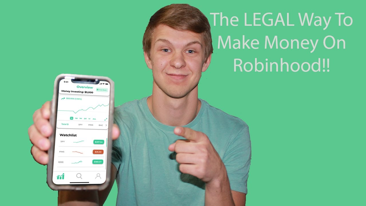How I Am Able To Make Money On Robinhood Every Week | The ...