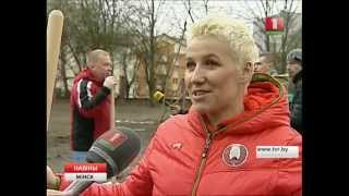 Заложена аллея славы белорусского фристайла