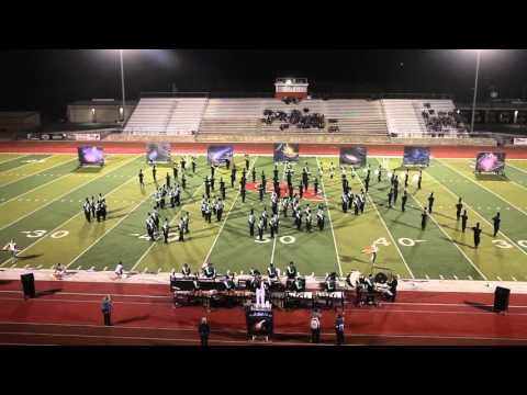 The Kennedale High School Marching Band at Region 7 UIL Competition - October 17, 2015