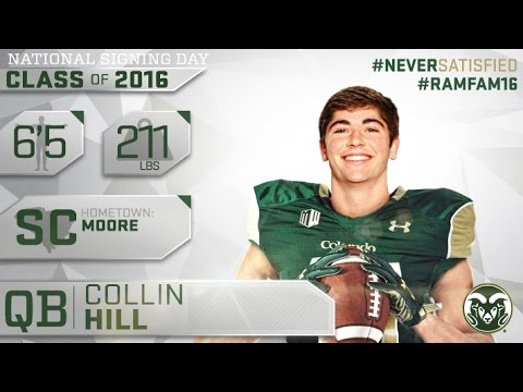 2016 Signing Class | Colin Hill