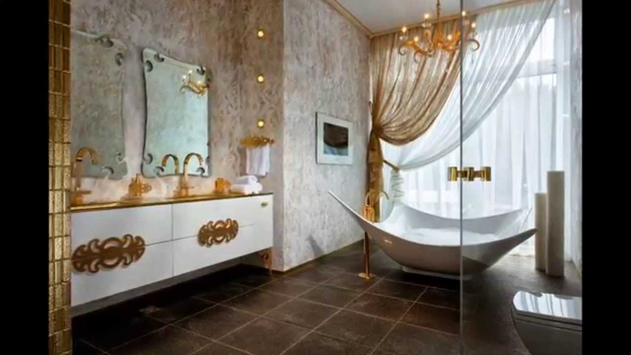 Asian bathroom decor youtube for Asian style bathroom designs