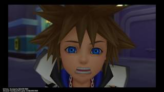 KINGDOM HEARTS - HD 1.5+2.5 Sora meets Donald and Goofy