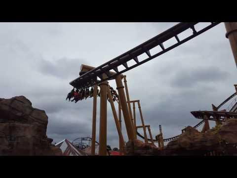 Flight of the Pterosaur Off-Ride Footage - Paultons Park