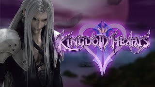 Kingdom Hearts 2 - Playing as Sephiroth Exhibition