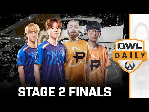 Stage 2 Finals feat. Yiska & Volamel - Overwatch League Daily