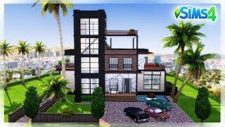 NOWOCZESNY DOM/ LOFT - BEZ MODÓW, DLA GWIAZDY - The Sims 4 Budowa
