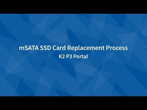 mSATA SSD Replacement   P3 Portal